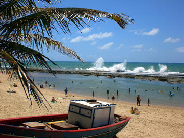 Arembepe Beach in Salvador