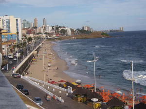 Farol da Barra Beach in Salvador Bahia