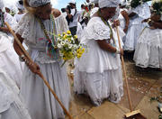 Bonfim Stair Washing Festival in Salvador