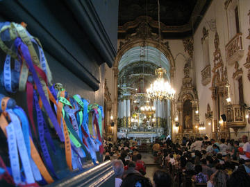 Senhor do Bonfim Church in Salvador Bahia